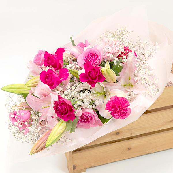 大切な記念日にぴったりの華やかな花束
